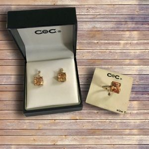Macy's CBC - Ring and Earnings Set